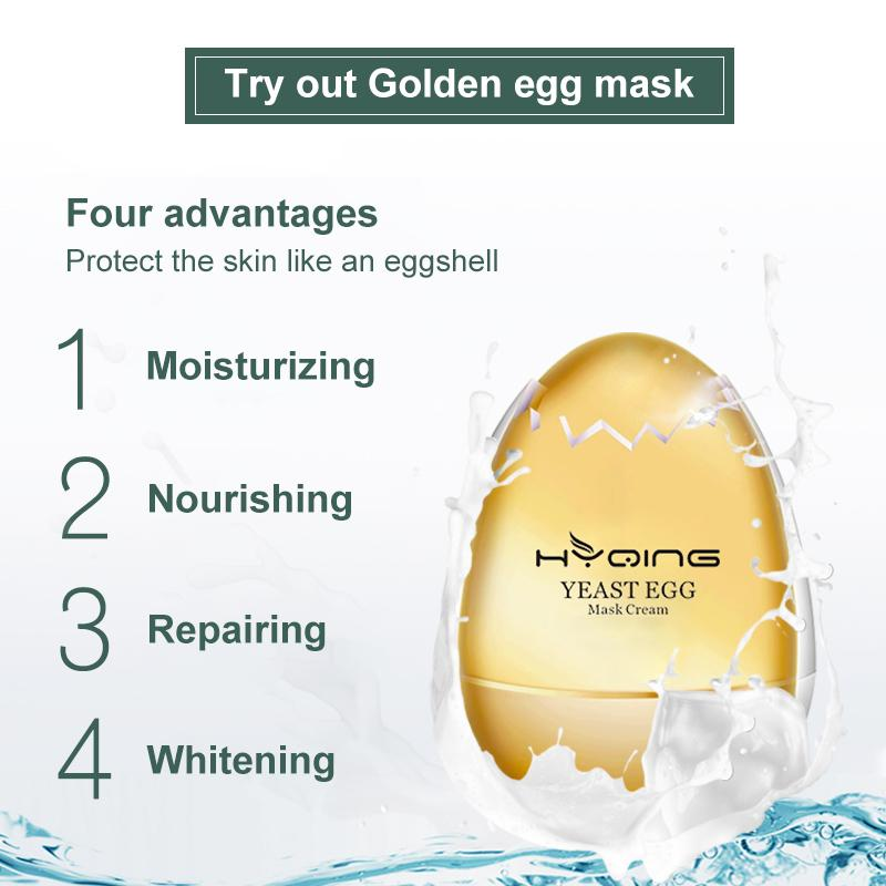 Golden Egg Mask