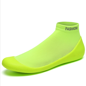 Men's Casual Socks Shoes Summer Breathable Running Shoes Outdoor Sports Fitness Shoes