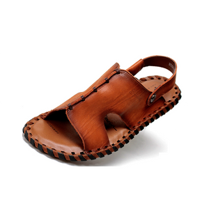 Men Leather Sandals Beach  Sandals
