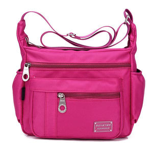 Nylon Waterproof Bags Casual Outdoor Sports Lightweight Shoulder Bags Crossbody Bags For Women