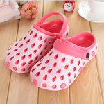 Big Size Hollow Out Color Match Sandals Slip On Flat Slippers