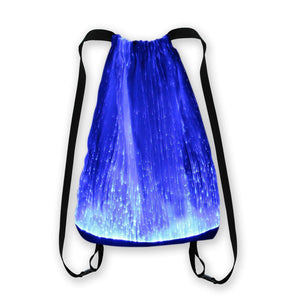 LED Light up Backpack 6 Glowing lights Bag For Rave Music Festival Party Christmas Halloween