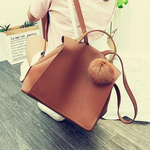 2018 Latest Solid Leather Backpack