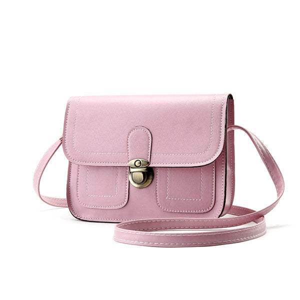 Women Stylish PU Leather 6.5inch Phone Bag Crossbody Bag Shoulder Bags
