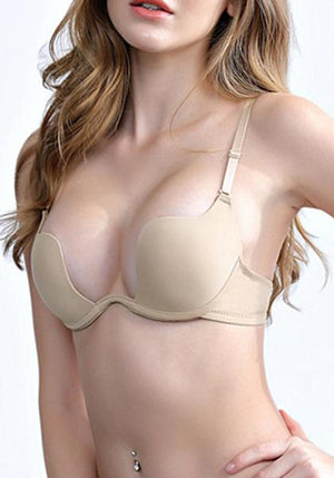 Low-cut Backless Bra Traceless Bra