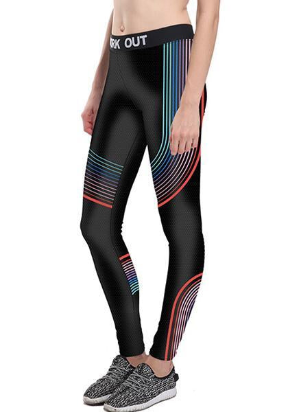 Digital Printed Workout Yoga Leggings