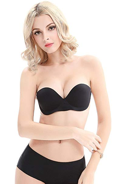 Inflatable Air Pump Cups Strapless Bra