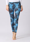 Tropical Leaf Printed Leggings