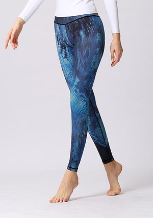 Blue Mystic Printed Leggings