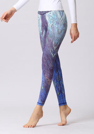 Blue Ocean Printed Leggings