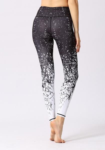 Life Trees Printed High Elasticity Leggings