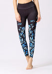 Butterfly Printed High Elasticity Leggings