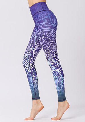 Bohemia High Waist Leggings