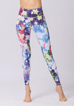 Stars Printed High Waist Leggings