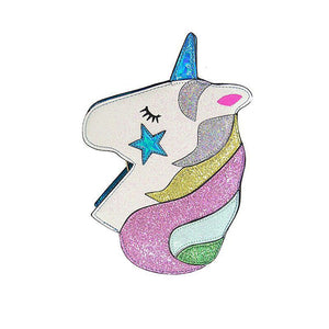 Glitter Unicorn Holographic Crossbody Bag