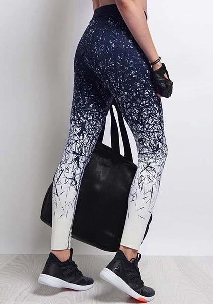 Printed Exercise Yoga Pants
