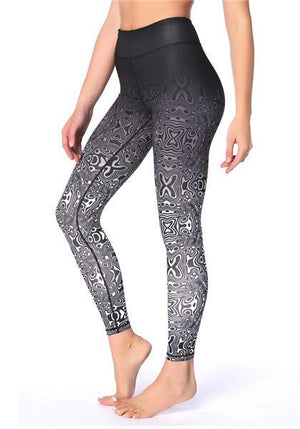 Quick-drying Breathable Gradient Outdoor Yoga Pants