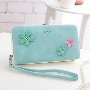 Women Universal 5.5 Inch Phone Bag Wallet PU Phone Bag