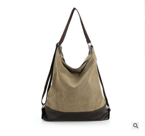 Multi-functional canvas bag