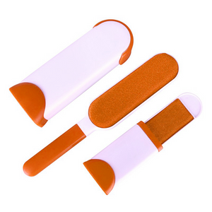 *Double Sided Fur Remover-Fur Brush-Prime4Choice.com-Orange-
