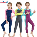Kids Wetsuit Long Sleeve UV Protection Thermal Swimwear