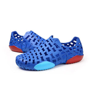 Men Hole Light Weight Garden Water Shoes Soft Beach Sandals