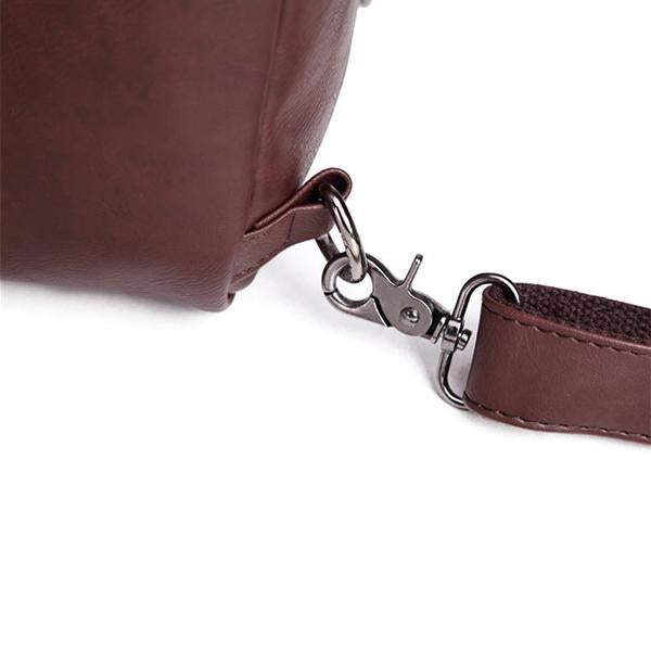 Men's Leather Casual Sling Bag Chest Bag Crossbody Bag-Bags-Prime4Choice.com-