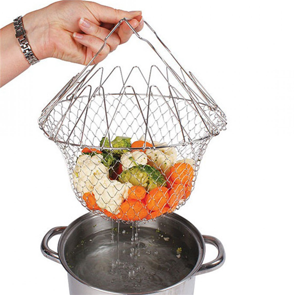 Multi-functional folding chef basket-dudechoice.com