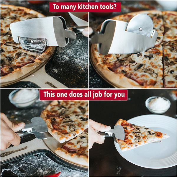Pizza Cutter Wheel Spatula-Home & Garden-prime4choice.com-