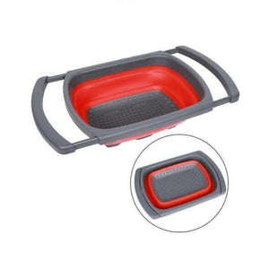 Progressive Collapsible Colander-Kitchen & Dining-Prime4Choice.com-Red-