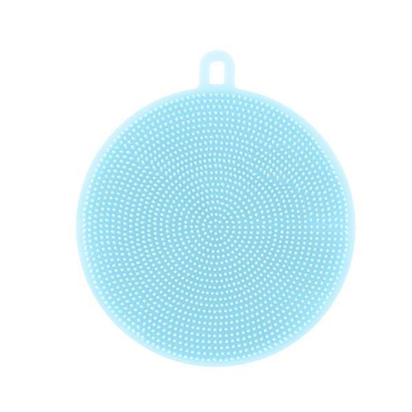 Round Silicone Dish Washing Sponge-Dish Cleaning-Prime4Choice.com-Blue-