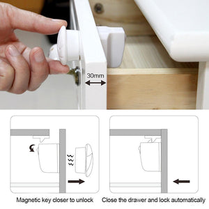 Safety Baby Magnetic Cabinet Locks-Kids & Baby-prime4choice.com-