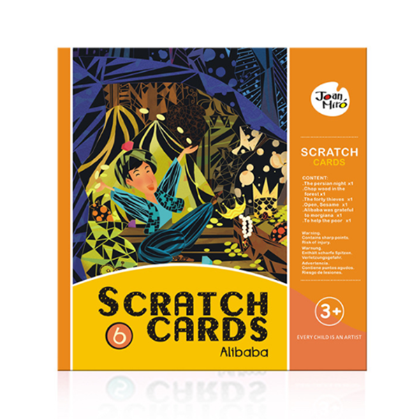 Scratch Art Paper Figure Scratch DIY Boards-Toys-Prime4Choice.com-Ali Baba-