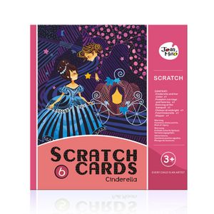 Scratch Art Paper Figure Scratch DIY Boards-Toys-Prime4Choice.com-Cinderella-