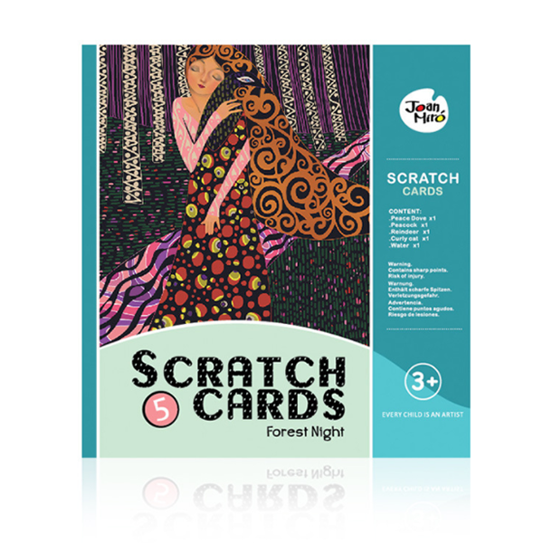 Scratch Art Paper Figure Scratch DIY Boards-Toys-Prime4Choice.com-Peacock-