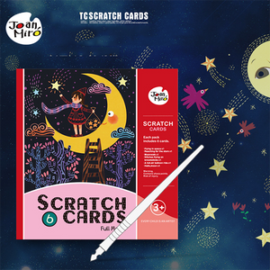 Scratch Art Paper Figure Scratch DIY Boards-Toys-Prime4Choice.com-Starry Night-