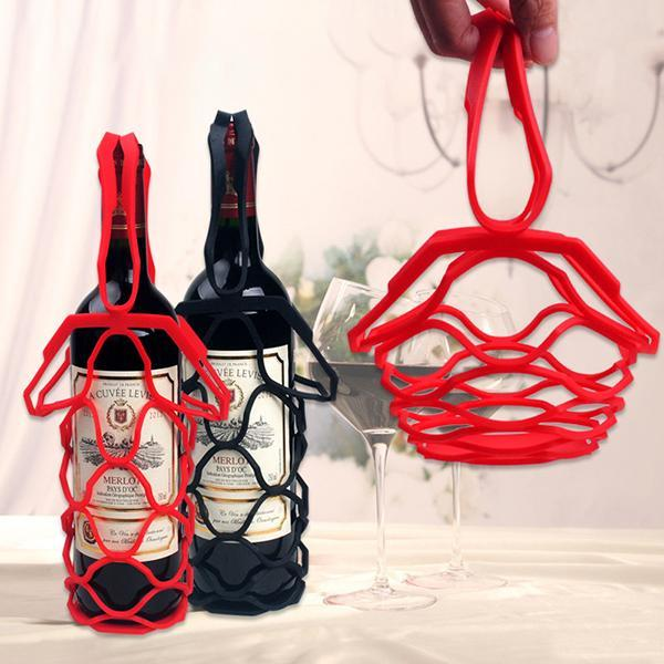 Silicone Wine Bottle Carrier-Kitchen & Dining-Prime4Choice.com-
