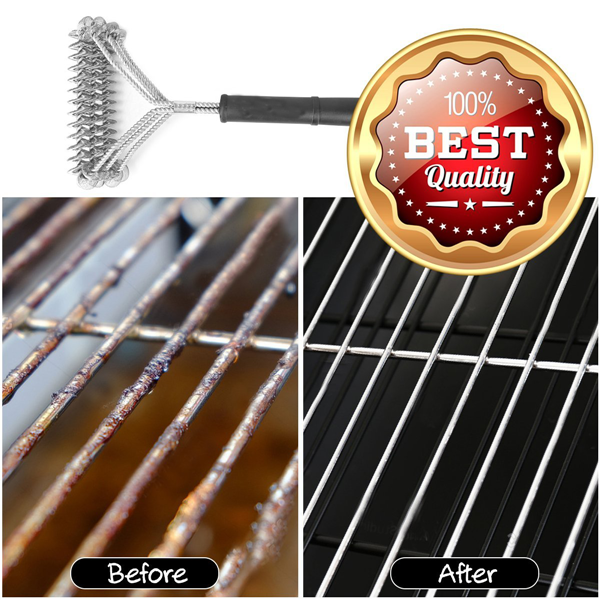 Stainless Grill Bristle Barbecue Cleaner-Kitchen Barbecue Tools-Prime4Choice.com-
