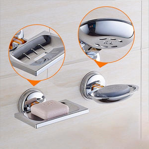 Super Powerful Suction Soap Holder-Bathroom Accessories-Prime4Choice.com-