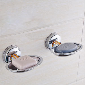 Super Powerful Suction Soap Holder-Bathroom Accessories-Prime4Choice.com-Round-