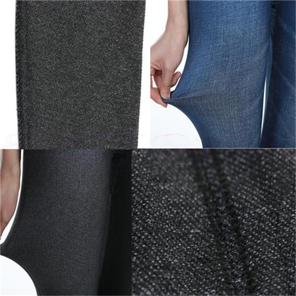 Women Autumn High Elastic Jeans Leggings-Jeans-Prime4Choice.com-