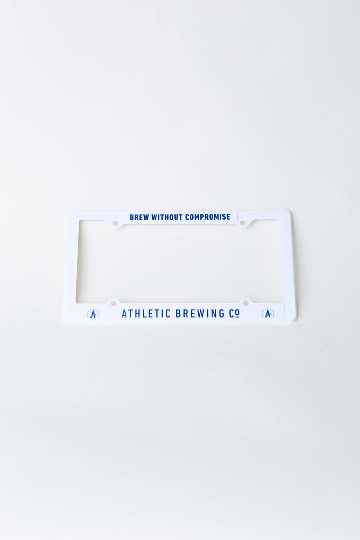 Athletic Brewing License Plate Frame