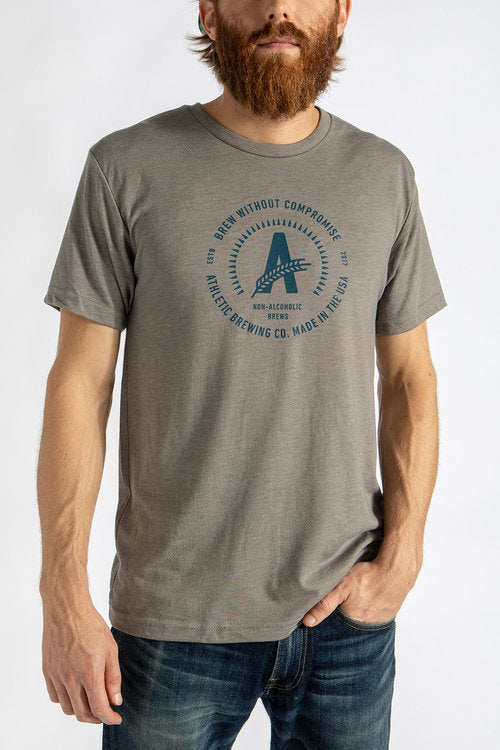 Men's Logo T-Shirt Grey