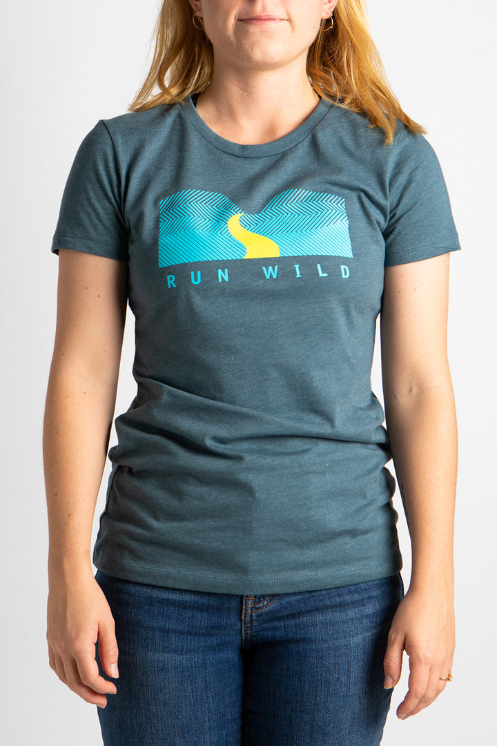 Women's Run Wild T-Shirt Grey