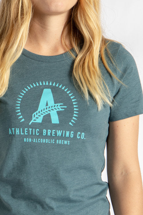 Women's Athletic T-Shirt Blue