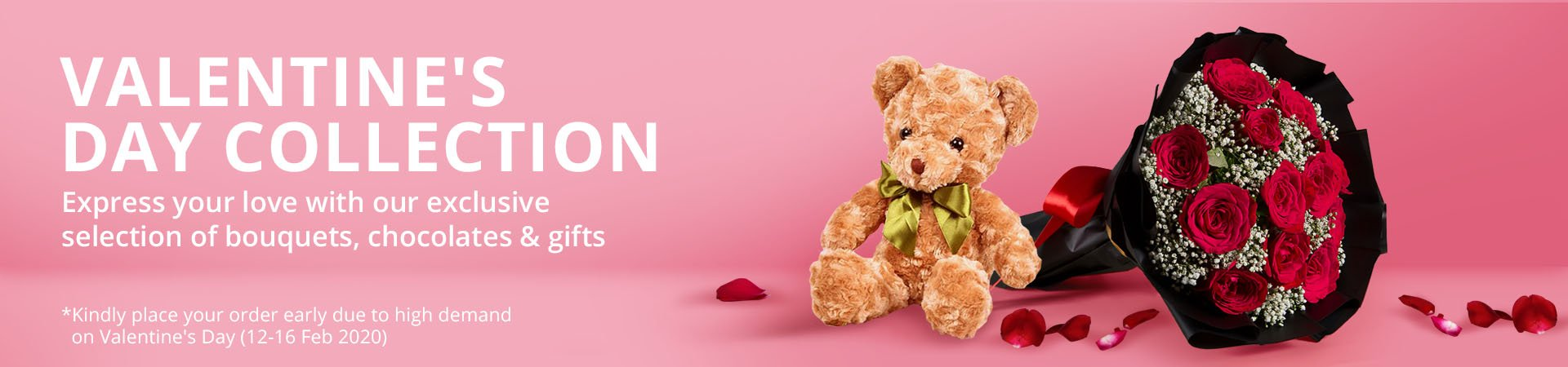 Valentine's Day Flower Delivery | Flower Chimp