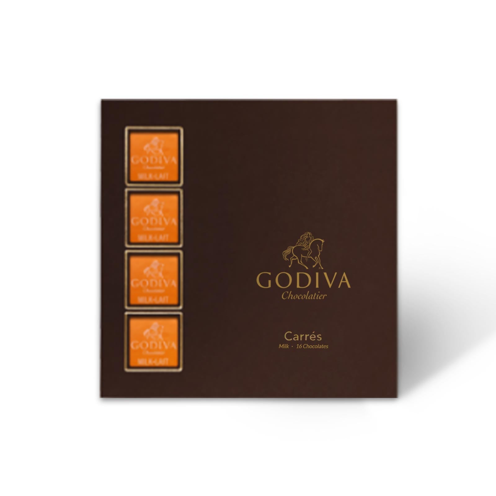 Godiva Milk Chocolate Carré Collection 16pcs