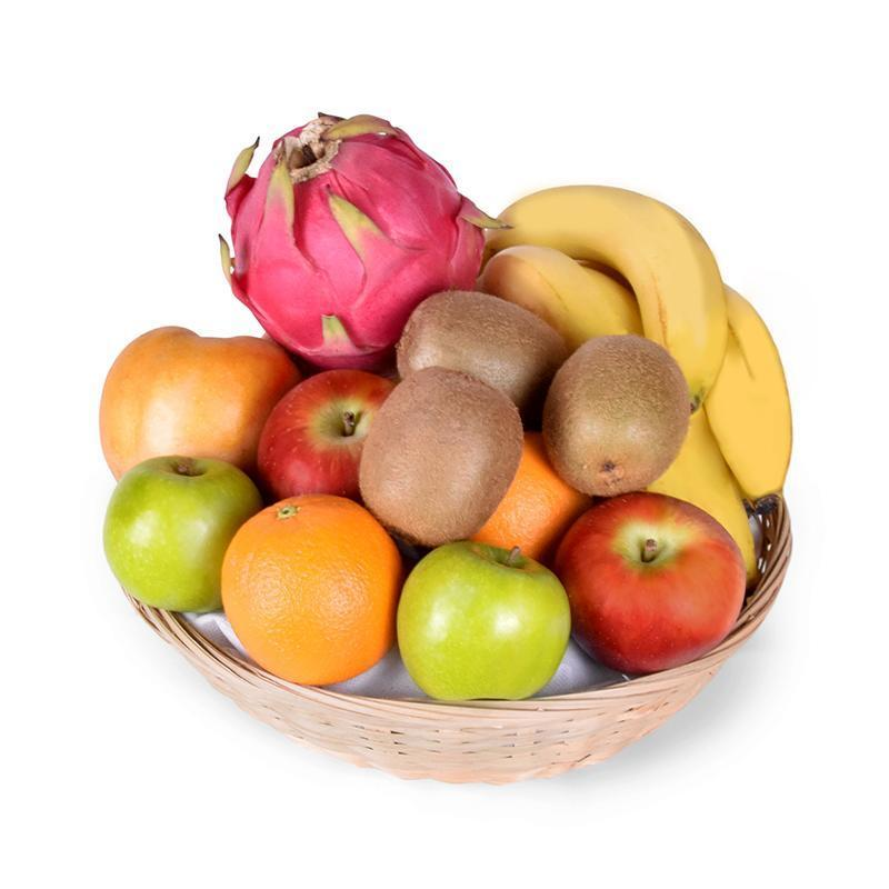 Hurry, Get Well! Fruit Basket