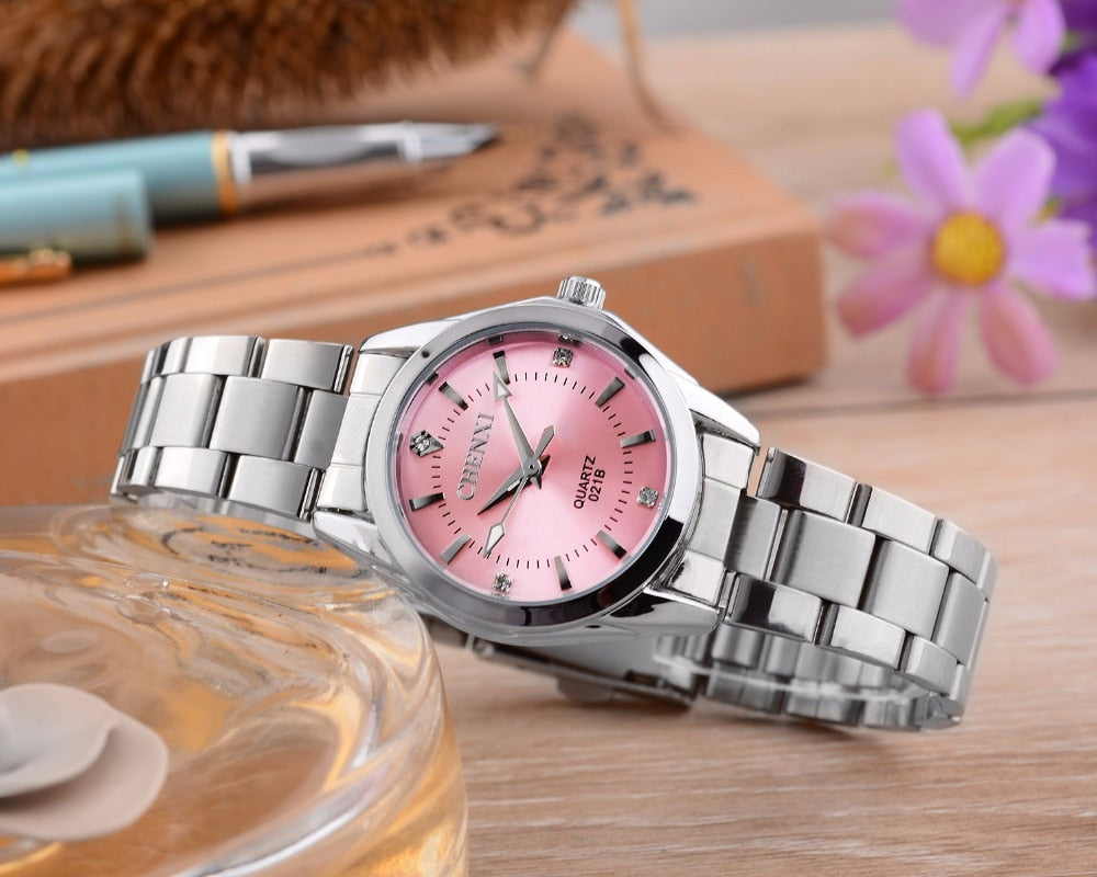 Luxury Quartz Women's Waterproof Watch  - 6 colors