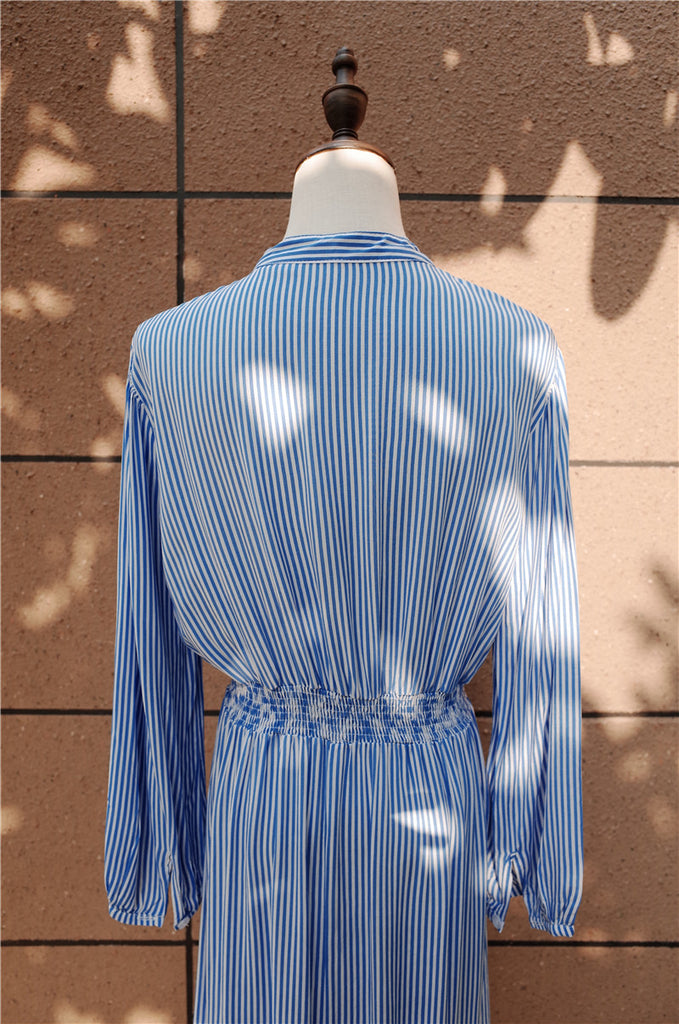 Bayview Market Vertical Striped Dress - One Size